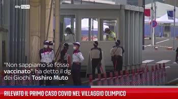Rilevato il primo caso Covid nel Villaggio Olimpico