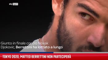 Tokyo 2020, Matteo Berrettini non parteciper�