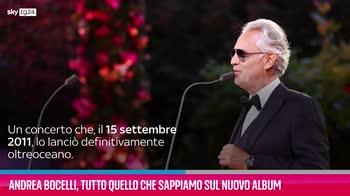 VIDEO Andrea Bocelli, quello che sappiamo sul nuovo album