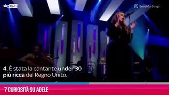 VIDEO Adele, 7 curiosità su di lei