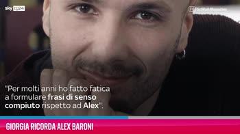 VIDEO Giorgia ricorda Alex Baroni