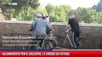 ERROR! Allenamento per il ciclismo, i 5 errori da evitare