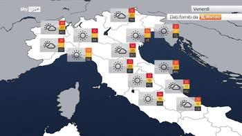 Meteo, anticiclone su tutta l?Italia con caldo in aumento