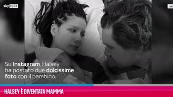 VIDEO Halsey è diventata mamma
