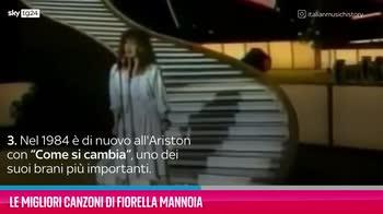 VIDEO Fiorella Mannoia, le sue migliori canzoni