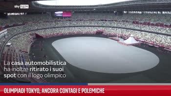 Olimpiadi Tokyo, ancora contagi e polemiche
