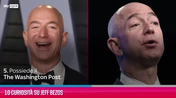 VIDEO Jeff Bezos, 10 curiosità su di lui