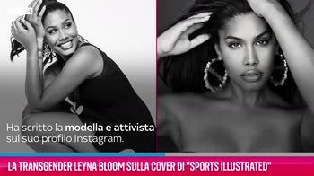"""VIDEO Leyna Bloom sulla cover di """"Sports Illustrated"""""""