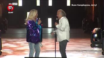 """""""Buon compleanno Jerry"""", Cal� festeggia 70 anni all'Arena di Verona"""