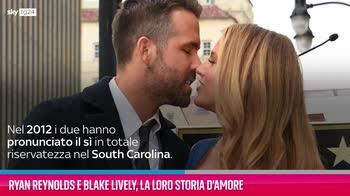 VIDEO Ryan Reynolds e Blake Lively, la loro storia d'amore
