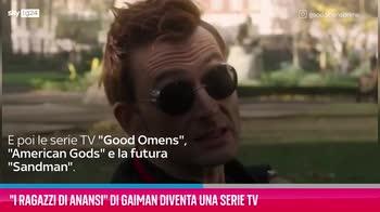 """VIDEO """"I ragazzi di Anansi"""" di Gaiman diventa una serie TV"""