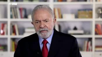 ERROR! +EMBARGO+ Lula a Sky tg24: ringrazio il Papa per impegno Amazzonia