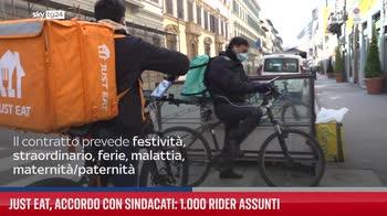 Just Eat, accordo con sindacati: 1.000 rider assunti