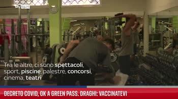 ERROR! Decreto Covid, ok a Green pass. Draghi: Vaccinatevi
