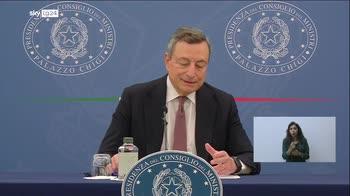 ERROR! Draghi, Non vaccinarsi vuol dire morire