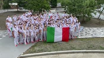 Olimpionici azzurri mandano auguri a Mattarella per i suoi 80 anni
