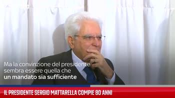 Il presidente Sergio Mattarella compie 80 anni