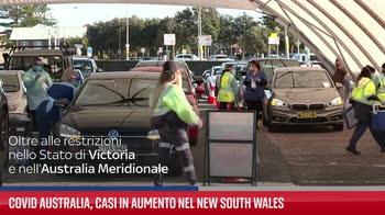 Covid Australia, casi in aumento nel New South Wales