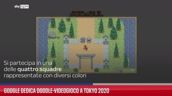 Google dedica doodle-videogioco a Tokyo 2020