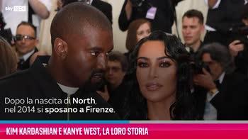 VIDEO Kim Kardashian e Kanye West, la loro storia