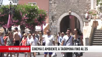 Nations Award, 15ma edizione dal 22 al 25 luglio a Taormina