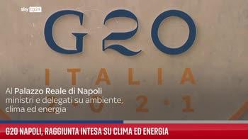 G20 Napoli, raggiunta intesa su clima ed energia