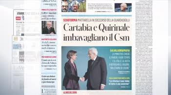 Rassegna stampa, i giornali del 24 luglio