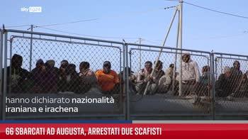 66 sbarcati ad Augusta, arrestati due scafisti