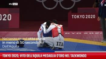 Tokyo 2020, Vito Dell?Aquila medaglia d?oro nel taekwondo