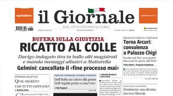 Rassegna stampa, i giornali del 25 luglio