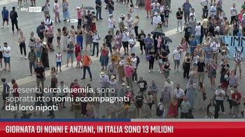 ERROR! Giornata di nonni e anziani, in Italia sono 13 milioni
