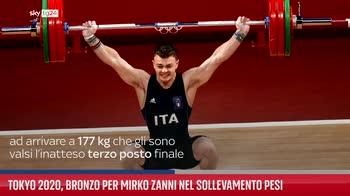 ERROR! Tokyo 2020, bronzo per Mirko Zanni nel sollevamento pesi