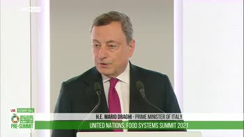 Draghi, pandemia ha reso problemi cibo pi� urgenti