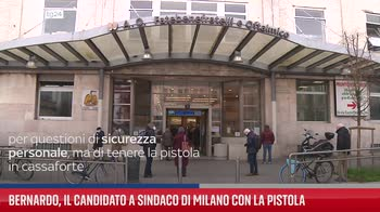 Bernardo e caso della pistola, bufera sul candidato a Milano