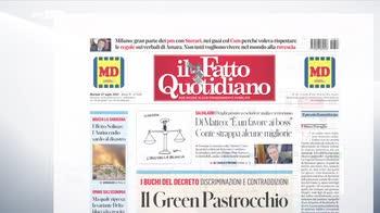 Rassegna stampa, i giornali del 27 luglio