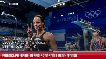 ERROR! Federica Pellegrini in finale 200 stile libero: record