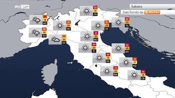 Meteo: divampa il gran caldo su tutta l'Italia con 45�C
