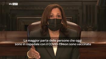 Harris: vaccinatevi, � l'unico modo per porre fine a questa situazione
