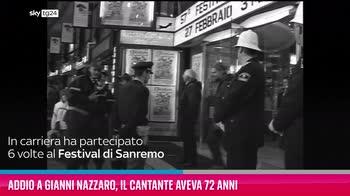 Addio a Gianni Nazzaro, il cantante aveva 72 anni
