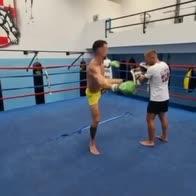 inter perisic allenamento kick boxing