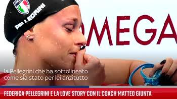 Federica Pellegrini e la love story con il coach Matteo Giunta