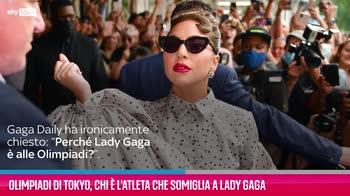 VIDEO Olimpiadi di Tokyo, l'atleta che somiglia a Lady Gaga