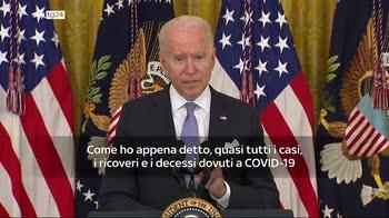ERROR! Usa, Biden introduce nuove misure contro la pandemia