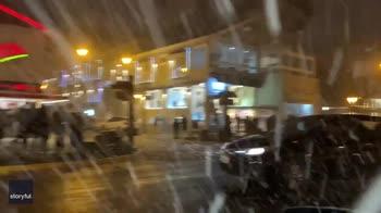 Nevicata in Brasile. VIDEO