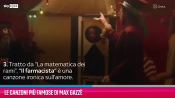 VIDEO Max Gazzè, le canzoni più famose