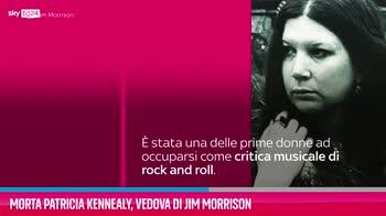 VIDEO Morta Patricia Kennealy, vedova di Jim Morrison