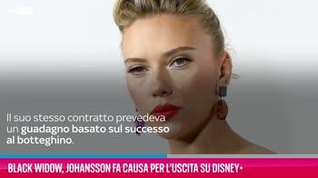 VIDEO Black Widow, Johansson fa causa per l'uscita Disney+
