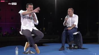 Salvini: obiettivo di Conte sar� ostacolare Draghi