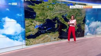 Previsioni meteo: inizio agosto instabile, cunicola al sud