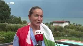 """Olimpiadi, la mamma di Jacobs a Sky TG24: """"Ci credeva molto"""""""
